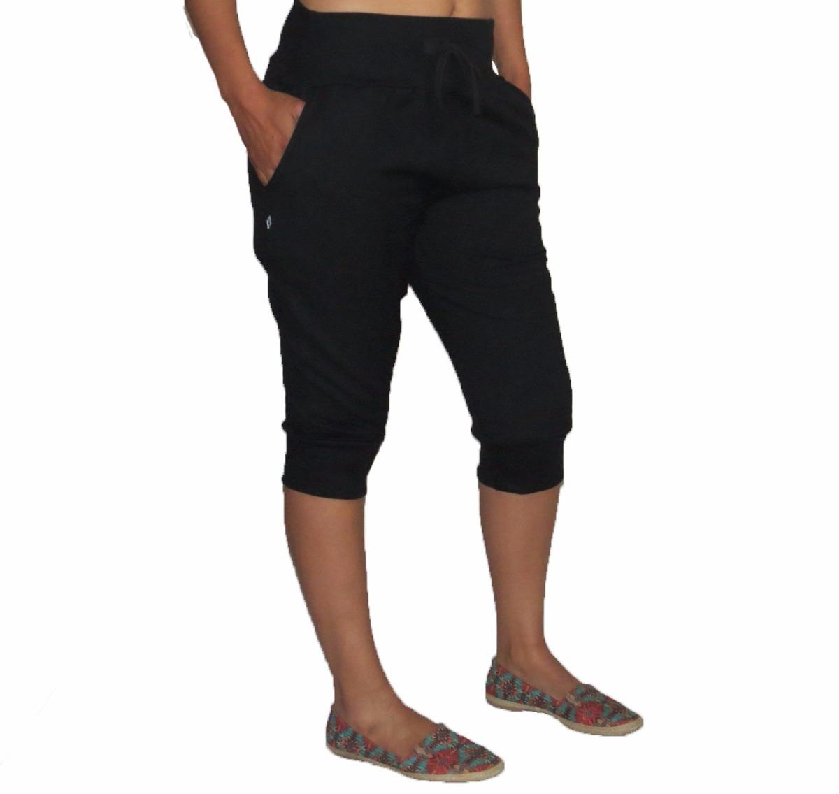e8adb895573 bermuda feminina moletom capri calça skinny slim 3 4 saruel. Carregando  zoom.