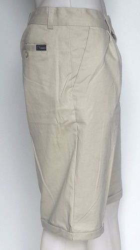 bermuda human/ cemento  linco - talles grandes - sarga grafa