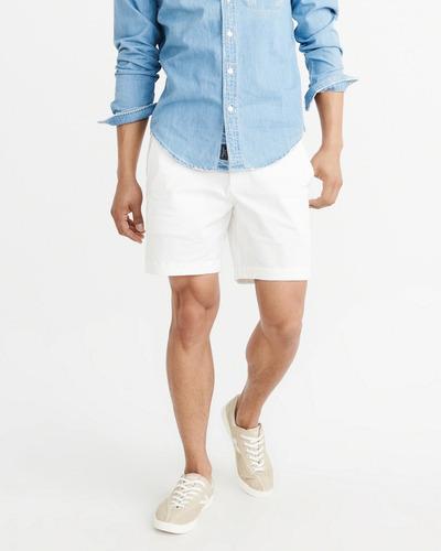 bermuda importada abercrombie masculina blusa frio hollister