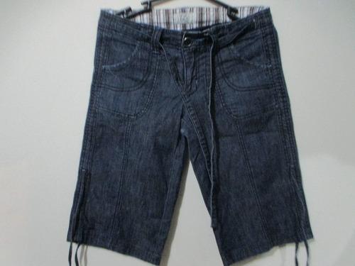 bermuda jeans 725 original  talla 27 remate por viaje!!!