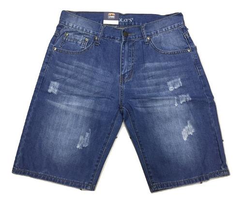 bermuda jeans hombre