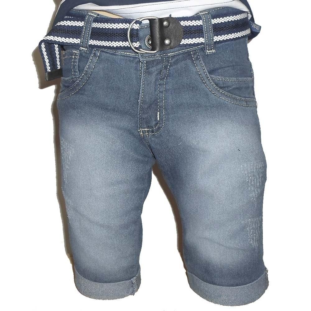 bermuda jeans infantil masculina urban cód c978e85. Carregando zoom. cb91144bd095e