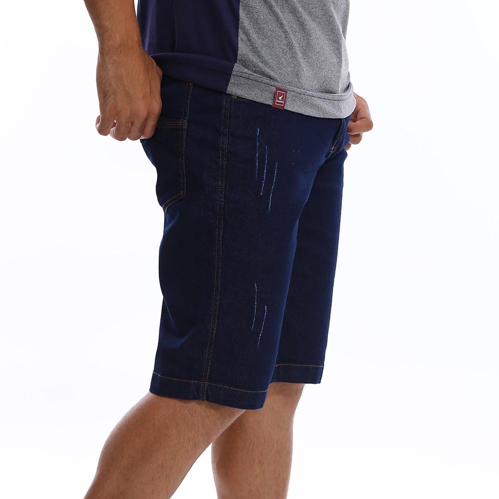 d6b860f04 bermuda jeans masculina com lycra - ótima qualidade. Carregando zoom.