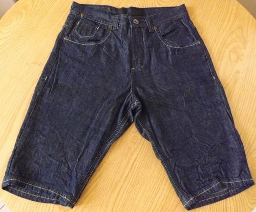 bermuda jeans masculina curta - tam. 38
