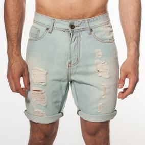 bce663d855 Short Bermuda Jean Celeste Y - Bermudas y Shorts en Mercado Libre ...
