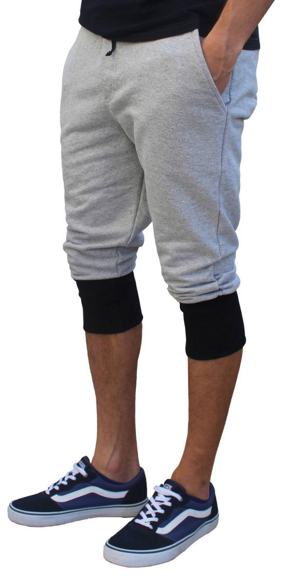 Productos profesional disponibilidad en el reino unido Bermuda Jogging Jogger Moletom Masculina - Kit Com 02 Peças