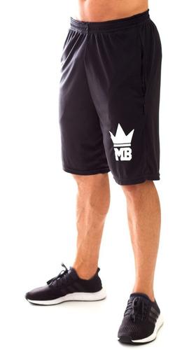 bermuda king mb marombada masculina dryfit para treino