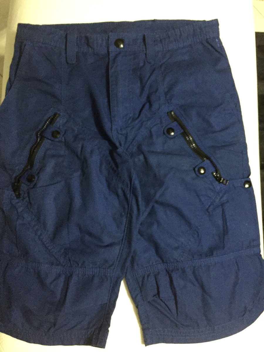 Bermuda Masculina Azul Escuro Armani Exchange Original T 40 - R  249 ... ef8620d9a6