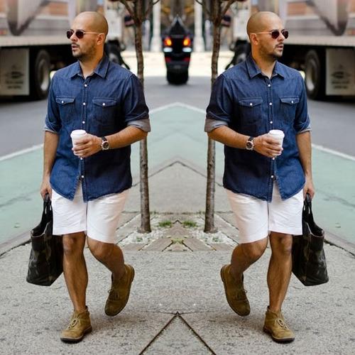 bermuda masculina coloridas tecido otimo / caimento perfeito