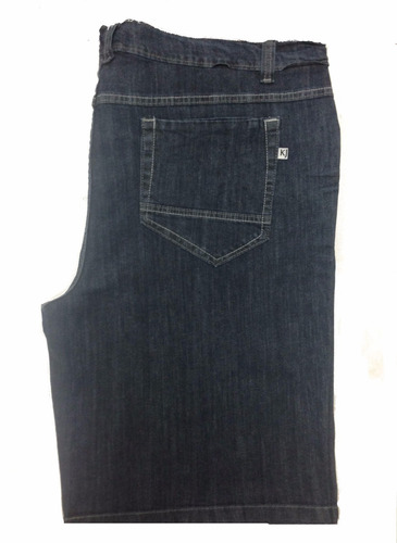bermuda masculina jeans tamanho grande pequeno defeito 1013