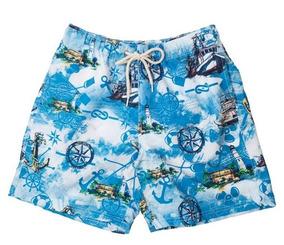 5328c78ea 4 Bermuda Masculina Shorts Moda Praia Estampado Fashion 2019