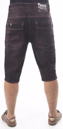bermuda masculino jeans