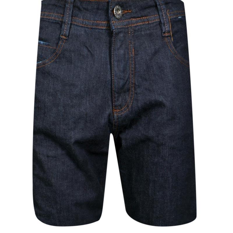 c08277b17827d bermuda mcd jeans walk denin glove azul escuro. Carregando zoom.