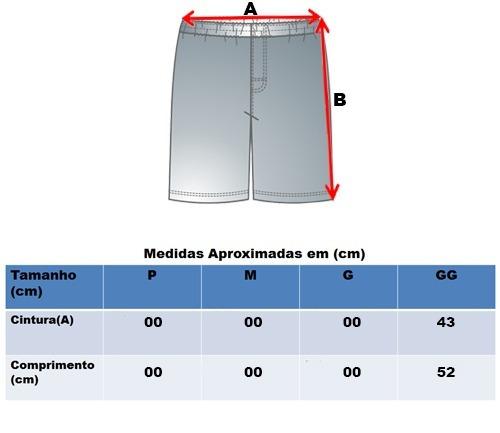 1fbfc9bf9 Bermuda Mizuno Short Giant M Treino Masculino 4121755 - R  91