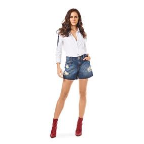 2b144f9e4 Bermuda Jeans Morena Rosa - - Calçados, Roupas e Bolsas com o Melhores  Preços no Mercado Livre Brasil