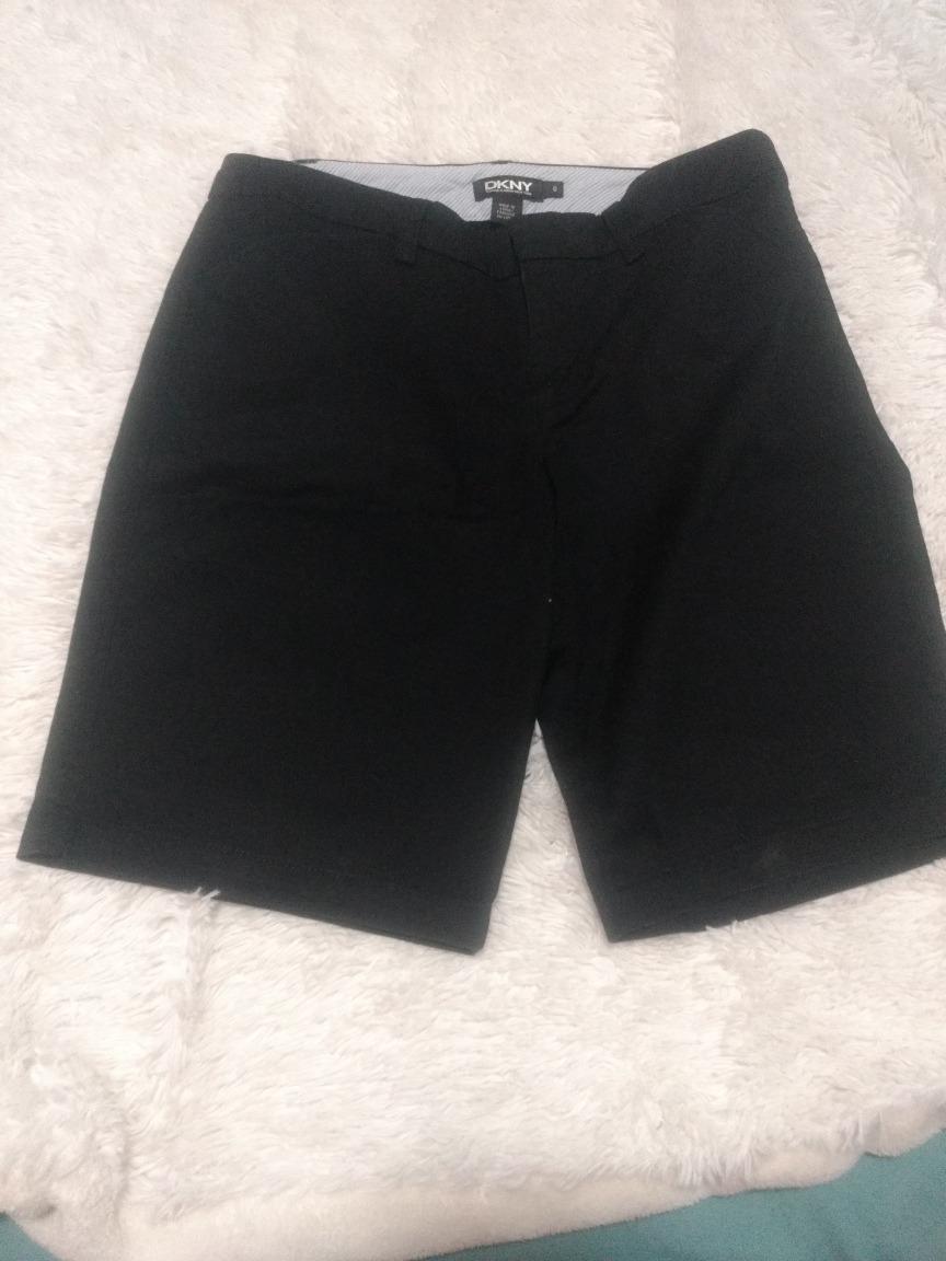 06d95cc469 bermuda mujer dama negra de vestir tm bolsillos pantalón. Cargando zoom.