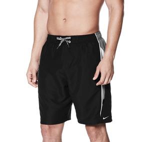 20c84611bd Bermuda Nike 9-inch Swim Volley Shorts Mens - Preto Com Cinz