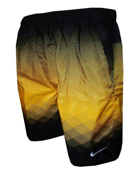 Bermuda Nike Com Bolso Calçao Shorts Degrade Preto E Amarelo - R  74 ... 871f755aae3d8