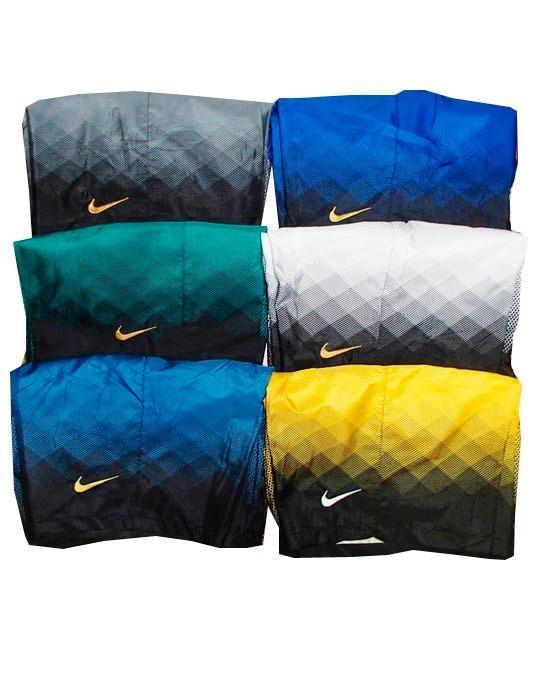 Bermuda Nike Com Bolso Calçao Shorts Degrade Preto E Verde - R  74 ... 60544321e5402