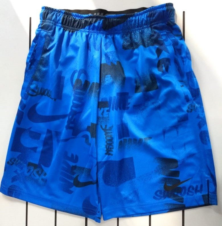 Bermuda Nike Dry 4.0 Masculina Aj8098-480 - P - Azul - R  159 f9a4ad55b42eb