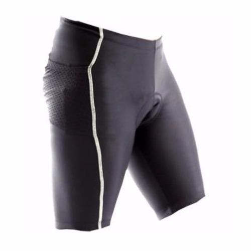 bermuda refactor flex com bolso bike masculina