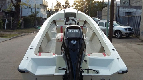 bermuda safari 5,5 con mercury 50 hp 4 t  dolar oficial