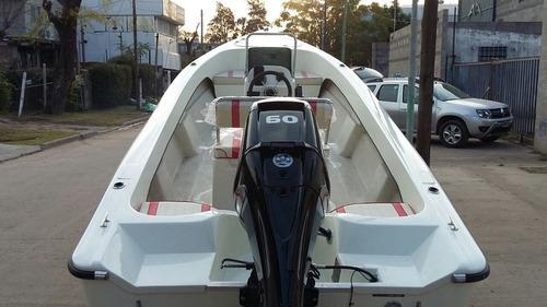 bermuda safari 5,5 con mercury 60 hp 4 tiempos ecologico