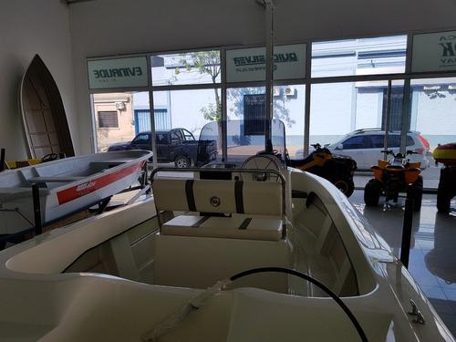 bermuda safari 550 c/mercury 40hp y trailer