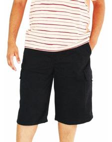 0b406e93f3b89d Bermuda Sarja Cós De Elástico Plus Size Masculina