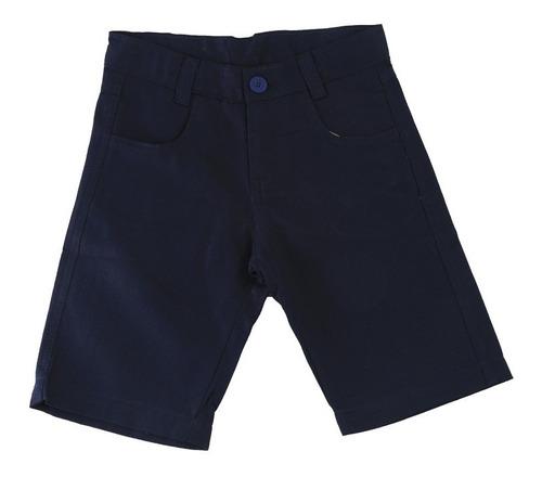 bermuda sarja infantil azul marinho várias cores promoção