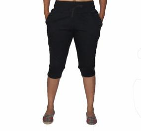 68c7ae5d16 Bermuda Feminina Conforto Moletom Capri Calça Skinny Saruel