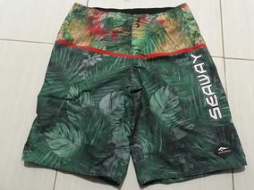 a533a8b6f Kit Bermuda Seaway - Bermudas Masculino no Mercado Livre Brasil