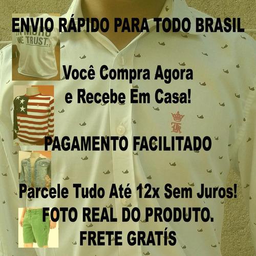 bermuda sergio k | bermuda de sarja | frete gratis | shorts