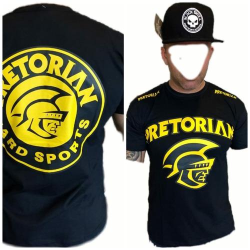bermuda shorts + camiseta  black skull mma treino fitnnes