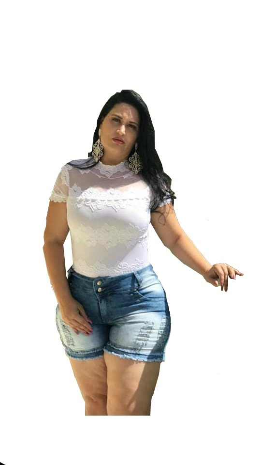 38d9cdd8a40f3b Bermuda Shorts Jeans Feminino Cintura Alta Plus Size Kit 03