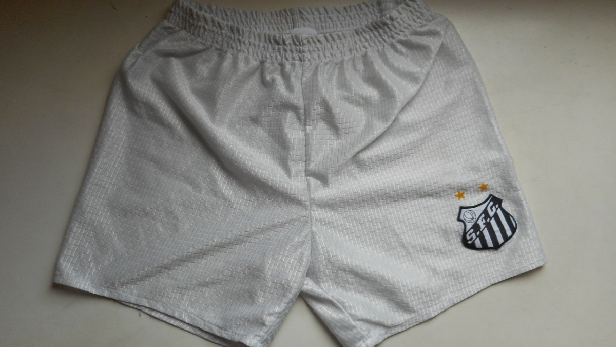 Bermuda   Shorts - Santos - Infantil - Oficial - R  60 c78a246bb2abf