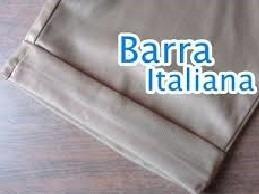 bermuda social feminina barra italiana 34 ao 44