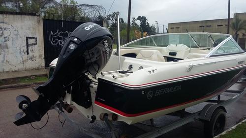 bermuda twenty c/150 hp 4t mercury con trailer de regalo ver