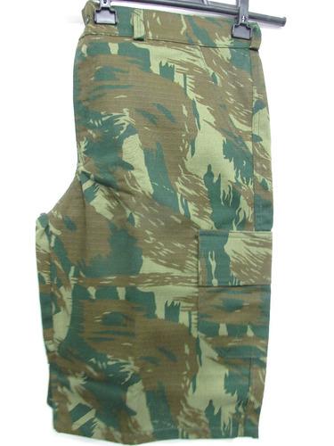 bermuda woodland  rip stop 6 bolsos estilo militar
