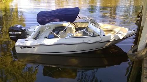bermuda180 sport con new mercury 115 hp 4 tiempos efi 2100cc