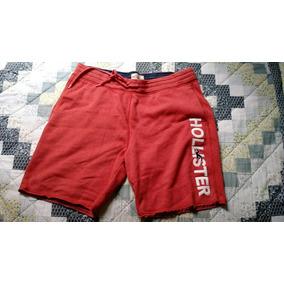 0e1b671137009 Bermudas Masculina - Bermuda Hollister Masculinas Vermelho no ...