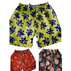 57d6dcaab2 Bermuda Masculina Shorts Kit3 Praia Tactel Fashion2018