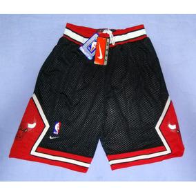 84739fce4d4 Short Nba Chicago Bulls Jordan Pippen Preto