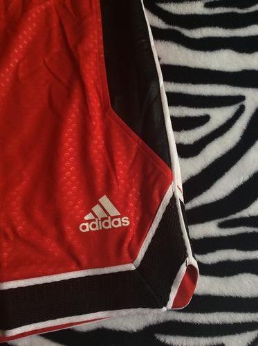 bermudas adidas (talla l) basquetbol 100% original 0002 l
