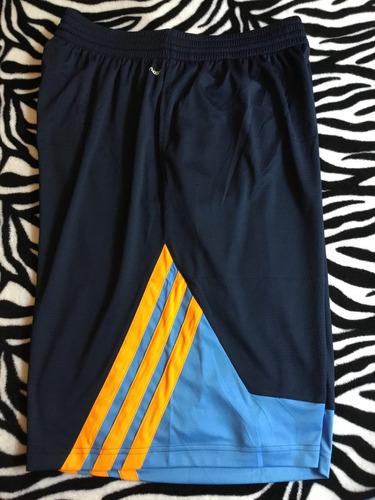 bermudas adidas (talla l) basquetbol 100% original súper 028