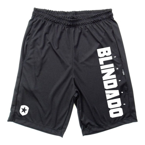 bermudas dryfit kit 2 peças shape blindado fitness e fight