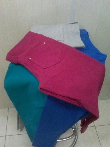 bermudas e leggings em cotton até o gg