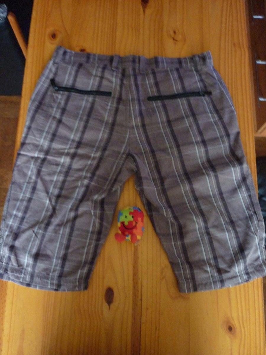 Bermudas Hombre Jjo Cuadros Talla 46 Pantalones Cortos 80a4e6bd80c4