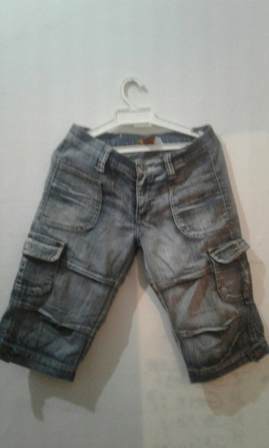 bermudas jeans dama