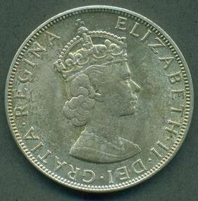 Moneda Una Bermudas Plata De Gran 1964 Corona N0nvOm8w